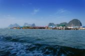 Muslim Floating Village At Panyee Island, Phanga, Thailand