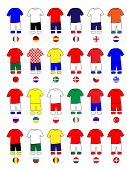 Europe Jerseys Football Kits