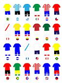 Americas Jerseys Football Kits