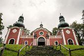 stock photo of banska  - Calvary in Banska Stiavnica Slovak republic Europe - JPG