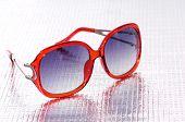 Trendy female sunglasses