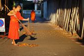 The Monk Was Sweep Street