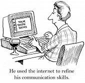 Rude Language on the Internet
