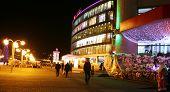 Christmas View Of Shopping Center In Nizhny Novgorod