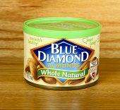 Can Of Blue Diamond Almonds