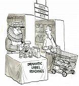 Dramatic Label Readings