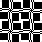 Abstract Square Pattern. Vector Seamless Geometric Wallpaper. Regular Monochrome Background