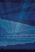 Mosaic abstract sea or ocean shore