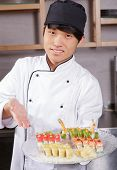 picture of sushi  - Proud cook - JPG