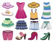 picture of jeans skirt  - clothes collection  - JPG