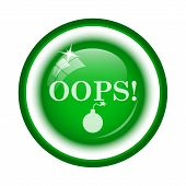 picture of oops  - Oops icon - JPG
