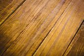 stock photo of extreme close-up  - Wooden table in extreme close up - JPG
