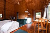 Fox Glacier Lodge Apartment Interior