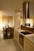 Kitchen in modern house