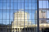 Ohio Statehouse Reflection