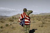 Patriotische Soldat