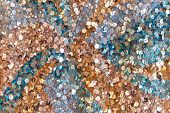foto of carnival rio  - Colorful sequined surface texture - JPG