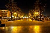 Nerja at night, Spain
