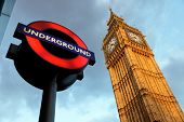 LONDON - JULY 29: The London 'Underground' logo will be used from now on for other transportation sy