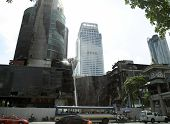 BANGKOK - MAY 25: Damage in Bangkok estimated at 50 to 60 billion baht, here part of worst destructi
