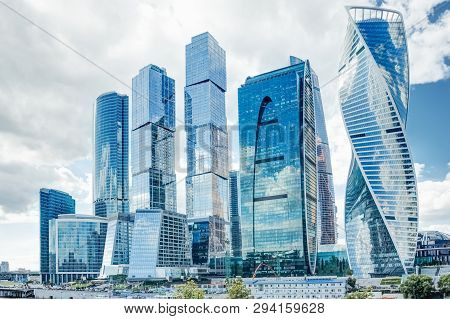 Shopping Business Center In Moscow