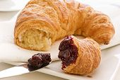 Croissant with Marmalade
