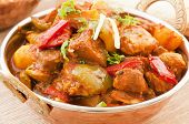 Chichen Vindaloo con arroz