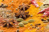 Mezcla de especias exóticas