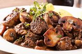 image of red shallot  - Boeuf Bourguignon - JPG