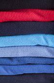 Cotton textiles different colours