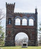 The War Correspondents Memorial, A Brick And Stone Arch Located In Jefferson Maryland, In Gathland S poster