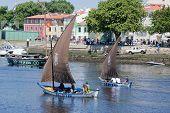 Baltazar de embarcaciones tradicionales y Briosa.