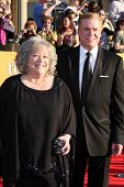 LOS ANGELES - JAN 29:  Kathy Bates and Christopher McDonald arrives at the 18th Annual Screen Actors