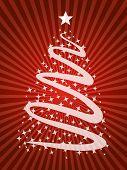christmas tree abstract artwork