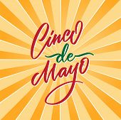 Cinco De Mayo Vector Illustration. 5 Of May Holiday Vector. Cinco De Mayo Holiday Banner. Mexican Ho poster