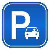 Car parking sign