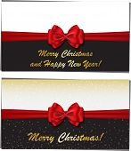 Merry Christmas And Happy New Year Luxury Greeting Cards