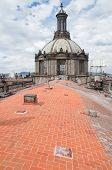 Dome of Metropolitan Cathedral, Mexico City