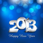 Happy New Year 2013. EPS 10.