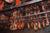 Dry-cured ham (Njegusi, Montenegro)