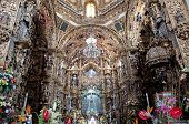 Altarpiece of Shrine of Our Lady of Ocotlan, Tlaxcala (Mexico)