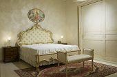 A Warm Classical Bedroom
