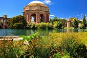 San Francisco Park Palace Of Fine Arts