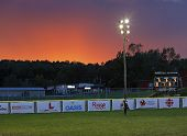 Canada Games Softball Woman Sunset Sky