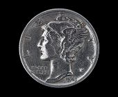 Mercury Head Dime 1943