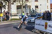 The Cyclist Lindeman Bert Jan- Paris Nice 2013 Prologue In Houilles