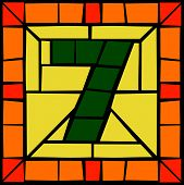 7 - Mosaic number