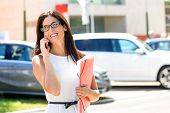 Car Sales Business Woman Success
