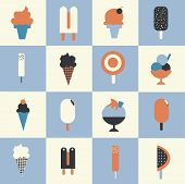 Ice Cream Set of Icons