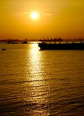 Sunrise At The Bay